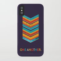 scripture iPhone & iPod Cases featuring One Another Scripture Poster (Leviticus) by Jess Creatives