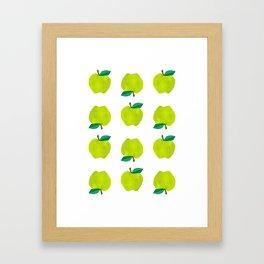 Granny Smith Apples for Days Framed Art Print