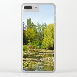 Summer Water Garden at Giverny Clear iPhone Case