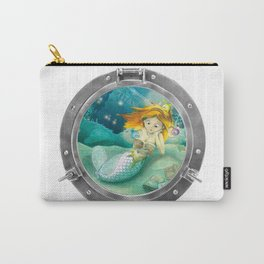How mermaids get new books Carry-All Pouch