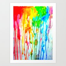 Colors of life : Colors Series 3 Art Print