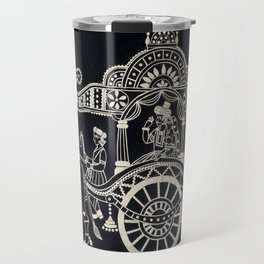 'The Chariot' Wood Work Travel Mug