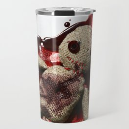 Bloody sack doll Travel Mug