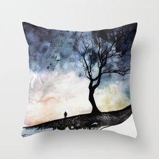 Underneath Throw Pillow