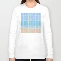 glass Long Sleeve T-shirts featuring Glass by Ana Guillén Fernández