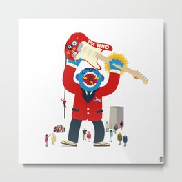 The Who Monster Metal Print