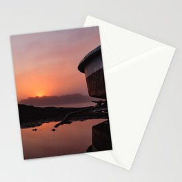 Boating on Mars Stationery Cards