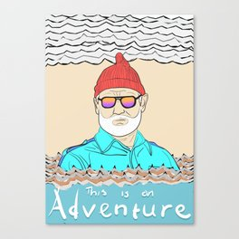 This is an Adventure Canvas Print