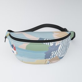 At the beach in the early 19th Century Fanny Pack