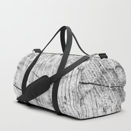 Cracks in timber Textures 3 Duffle Bag