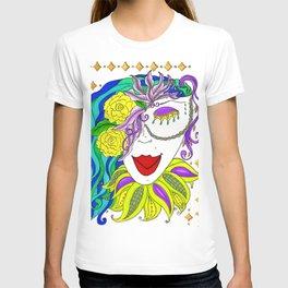 Lady Mardi Gras T-shirt