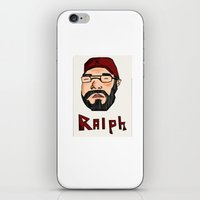 wreck it ralph iPhone & iPod Skins featuring RALPH by Shanestrikesback