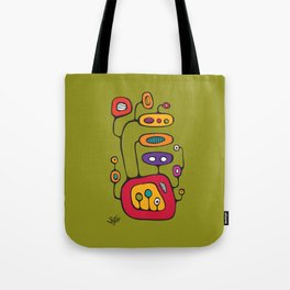 Broadcast in Full Color Tote Bag