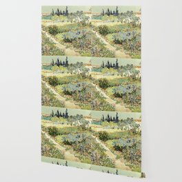 Vincent Van Gogh : Garden at Arles Wallpaper