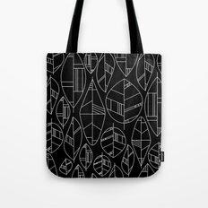 MCM Autumn Leaves B&W Tote Bag