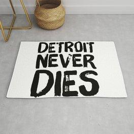 Detroit Never Dies Rug