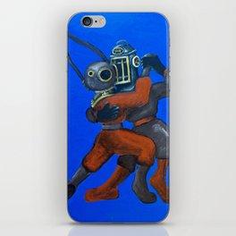 Two Divers, Dancing iPhone Skin
