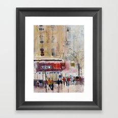 Chinatown, New York City, New York Framed Art Print