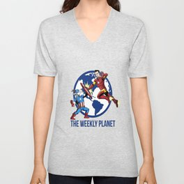 The Weekly Planet Unisex V-Neck