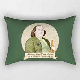 BEN AND BEER Rectangular Pillow