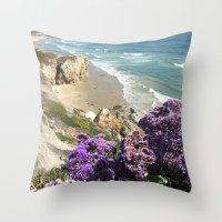 Shell Beach Beauty II Throw Pillow