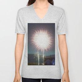 Firework Unisex V-Neck