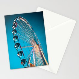 Paris, ferris wheel, France, metropolis, friends, city Stationery Cards