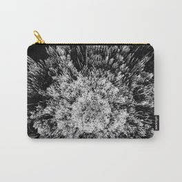 Spiky black and white Carry-All Pouch