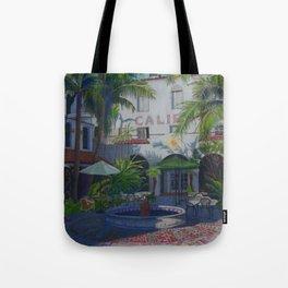 Cafe Del Sol Tote Bag