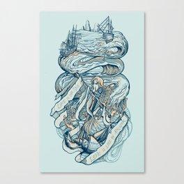 Life & Love at Sea Canvas Print