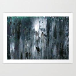 Cold November Rain Art Print