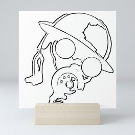 The Enemy! (v2) Mini Art Print
