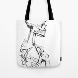 INK SKELETON Tote Bag