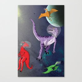 Extinction: The Final Frontier Canvas Print