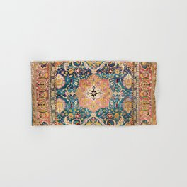 Amritsar Punjab North Indian Rug Print Hand & Bath Towel