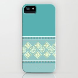 Jacquard Woven fabric art iPhone Case