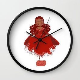 Queen Guinevere Wall Clock