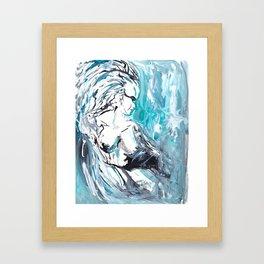 Khione Framed Art Print