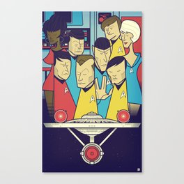 Star Trek Canvas Print
