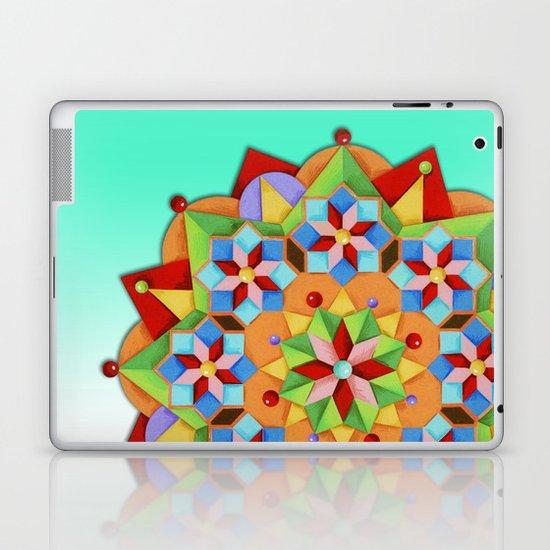 Manchester Mandala Laptop & iPad Skin