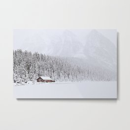 blinded by the white // lake louise Metal Print
