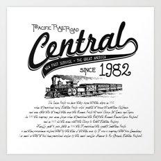 Central Art Print
