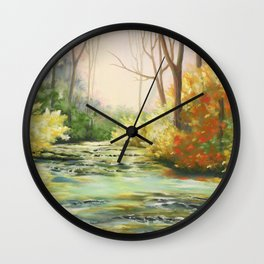 Le long du Dard Wall Clock