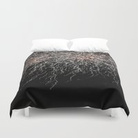 fireworks Duvet Covers featuring Fireworks by Carlo Toffolo