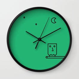 MONSIEUR OWL Wall Clock