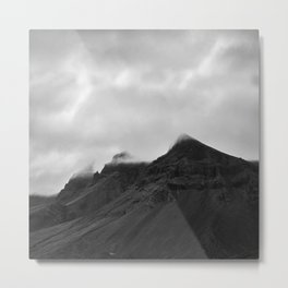 Icelandic mountains Metal Print