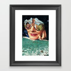 Lifeguard duty Framed Art Print