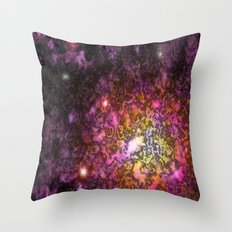 Nebula IV Throw Pillow