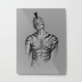 Mohawk Metal Print