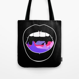 Desert breath ufo Tote Bag